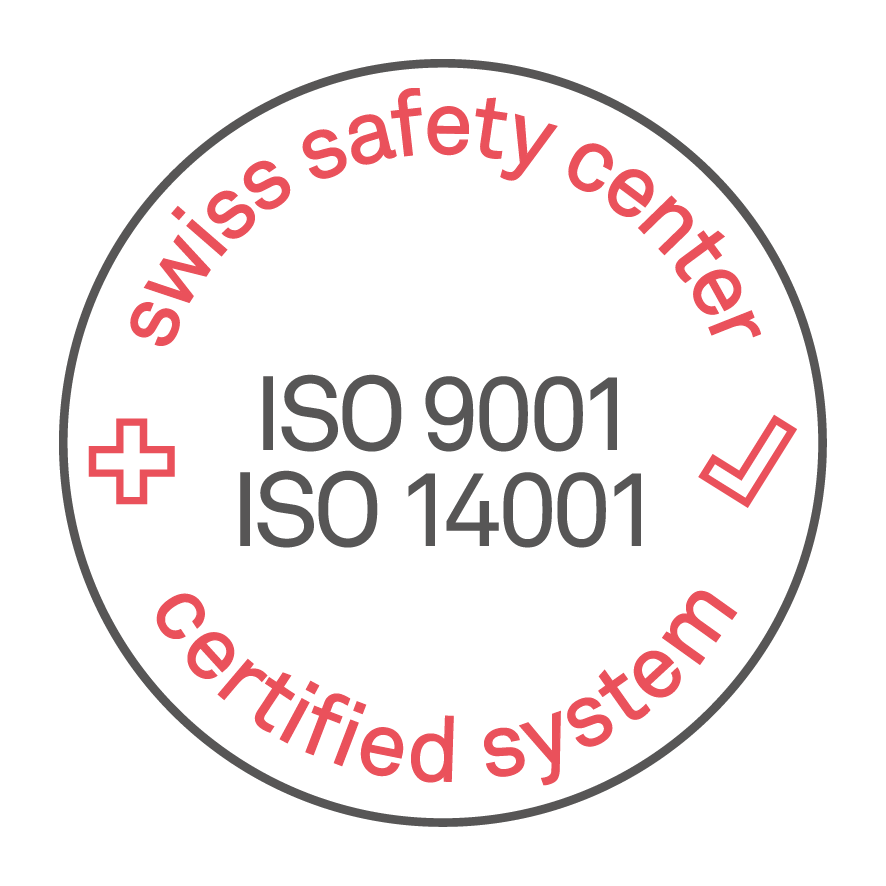 SSC ISO9001 ISO14001 volltransparent